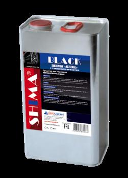 Средство для чернения резины SHIMA BLACK с глянцевым эффектом (Шима Блэк)